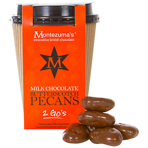 Buy Montezuma Milk Chocolate Butterscotch Pecans, 130g Online at johnlewis.com