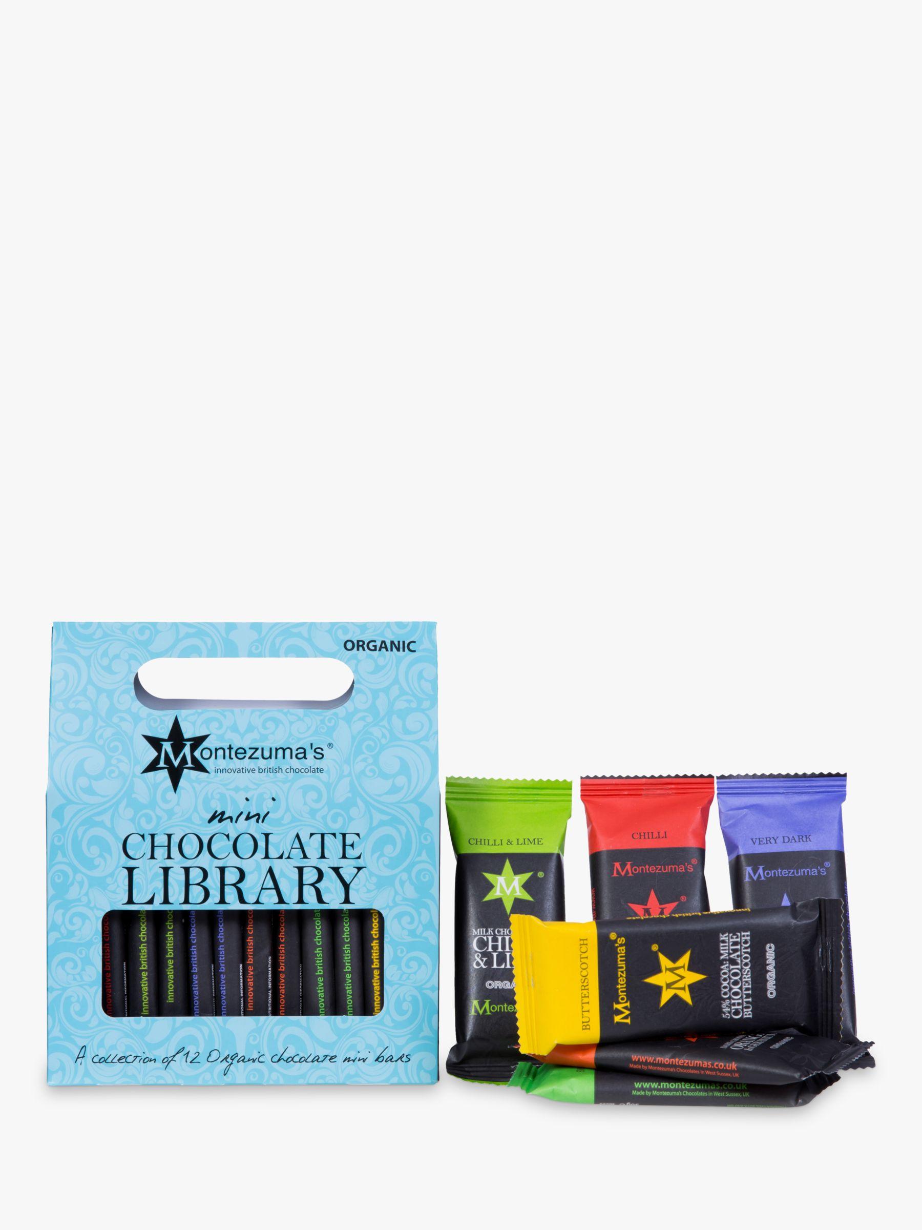 Montezuma's Montezuma's Mini Me Organic Chocolate Bar Library, 360g