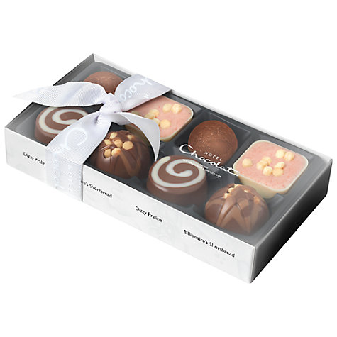 Buy Hotel Chocolat Serious Dark Fix Chocolate Selection, Box of 8, 95g Online at johnlewis.com