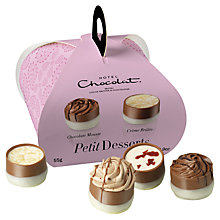 Buy Hotel Chocolat Petit Dessert Chocolates, 55g Online at johnlewis.com
