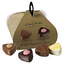 Buy Hotel Chocolat Petit Cheesecakes Chocolates, 55g Online at johnlewis.com