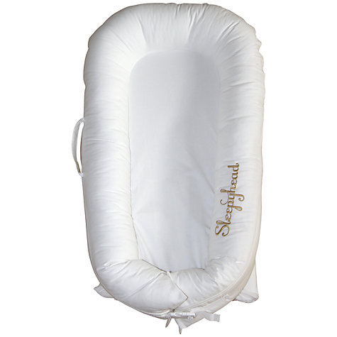 Buy Sleepyhead Deluxe Portable Baby Pod, White Online at johnlewis.com