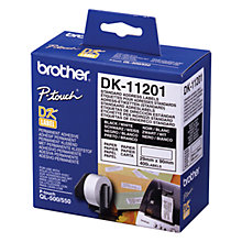 Buy Brother DK11201 White Standard Address Labels (28 x 90mm) Online at johnlewis.com