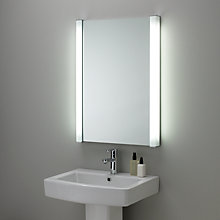 Buy John Lewis Evolve Fluoro Illuminated Bathroom Mirror Online at johnlewis.com