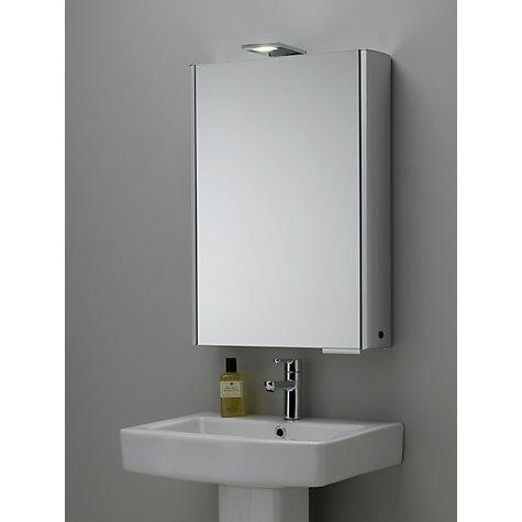 Buy roper rhodes fever illuminated single bathroom cabinet for Bathroom cabinets john lewis