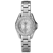 Buy Fossil Women's Riley Mini Plated Stainless Steel Watch Online at johnlewis.com