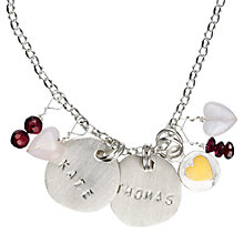 Buy Chambers & Beau Personalised Poppets Classic Necklace Online at johnlewis.com