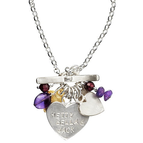 Buy Chambers & Beau Personalised I Heart Classic Necklace Online at johnlewis.com