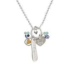 Buy Chambers & Beau Personalised With Love Maxi Necklace Online at johnlewis.com