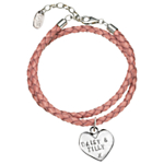 Chambers & Beau Personalised Braided Leather Bracelet
