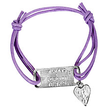 Buy Chambers & Beau Personalised ID Bracelet, Maxi Online at johnlewis.com
