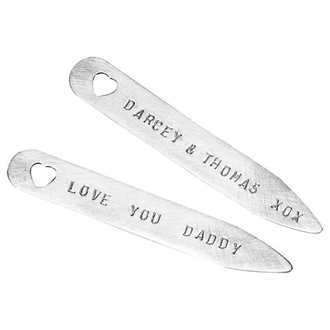 Buy Chambers & Beau Personalised Collar Stiffeners Online at johnlewis.com