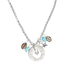 Buy Chambers & Beau Personalised Circle Of Life Necklace Online at johnlewis.com