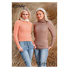 Buy Wendy Merino DK Leaflet, 5637 Online at johnlewis.com