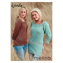 Buy Wendy Merino DK Leaflet, 5638 Online at johnlewis.com