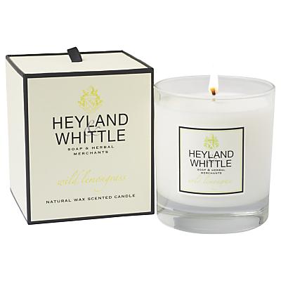 Heyland & Whittle Wild Lemongrass Candle