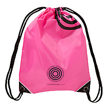 Buy Concentrate Anti-Smell Sports Bag, Pink Online at johnlewis.com
