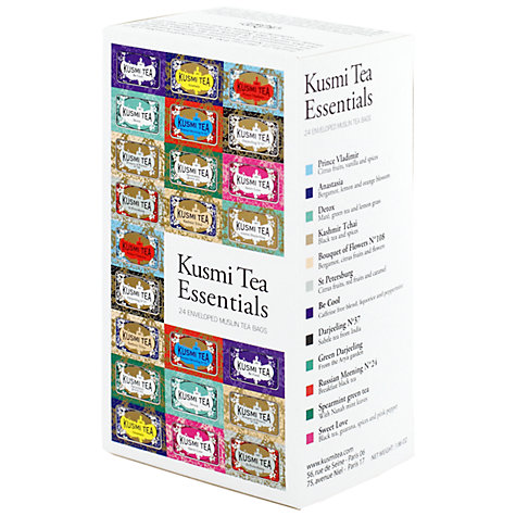 Buy Kusmi Essential Tea Selection, Box of 24, 52g Online at johnlewis.com