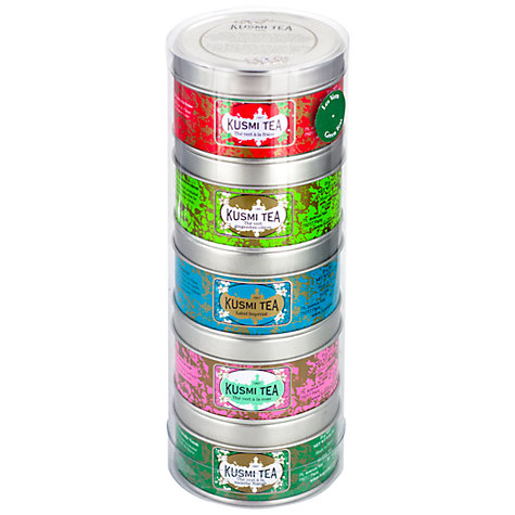 Buy Kusmi Tea Green Tea Selection, 125g Online at johnlewis.com