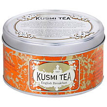 Buy Kusmi Tea English Breakfast Loose Leaf Tin, 125g Online at johnlewis.com