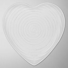 Buy Sophie Conran for Portmeirion Heart Plate, Large Online at johnlewis.com