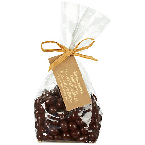 Buy Ambassadors Of London Dark Chocolate Coffee Beans, 200g Online at johnlewis.com