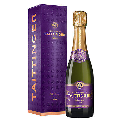 Buy Taittinger Nocturne NV Champagne, 37.5cl Online at johnlewis.com