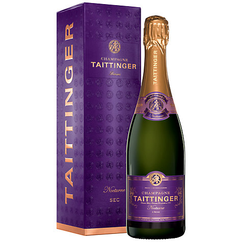 Buy Taittinger Nocturne NV Champagne, 75cl Online at johnlewis.com
