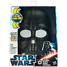 Buy Star Wars Electronic Helmet, Assorted Online at johnlewis.com