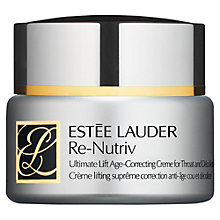 Buy Estée Lauder Re-Nutriv Ultimate Lift Age-Correcting Creme for Throat and Décolletage Online at johnlewis.com