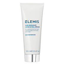 Buy Elemis Pro-Radiance Hand and Nail Cream, 100ml Online at johnlewis.com