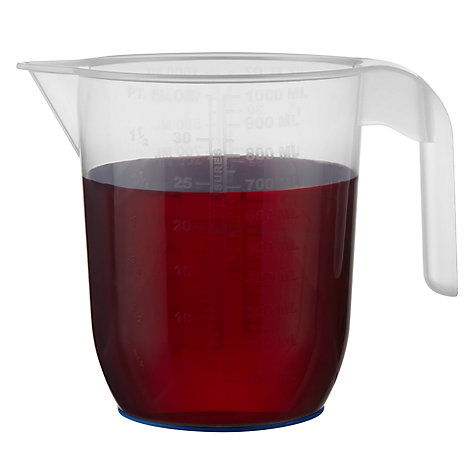 Buy John Lewis Measuring Jug, 2L Online at johnlewis.com