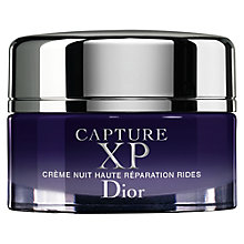 Buy Dior Capture XP Ultimate Wrinkle Correction Night Créme, 50ml Online at johnlewis.com