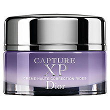 Buy Dior Capture XP Ultimate Wrinkle Correction Créme - Dry Skin, 50ml Online at johnlewis.com