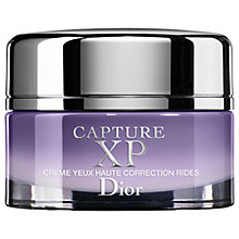 Buy Dior Capture XP Ultimate Wrinkle Correction Eye Créme, 15ml Online at johnlewis.com