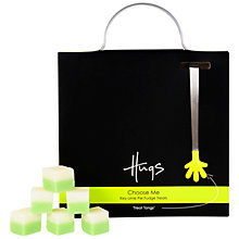 Buy Hugs Lime Pie Fudge With Tongs, 225g Online at johnlewis.com