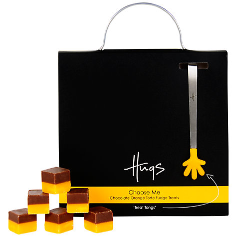 Buy Hugs Choose Me Chocolate Orange Torte Fudge Treats, 225g Online at johnlewis.com