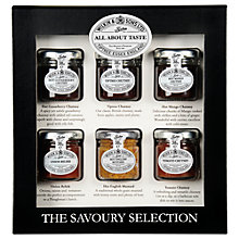 Buy Wilkin & Sons Tiptree The Savoury Selection, 6 x 38g Online at johnlewis.com