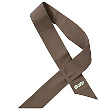 Buy Brownies Uniform Sash, Brown Online at johnlewis.com
