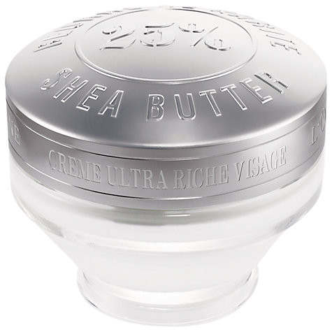Buy L'Occitane Ultra Rich Face Cream, 50ml Online at johnlewis.com