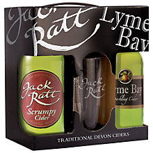 Buy Lyme Bay Cider & Glass Set Online at johnlewis.com
