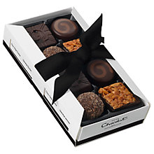Buy Hotel Chocolat Dark Fix Chocolate Selection, Box of 8, 85g Online at johnlewis.com