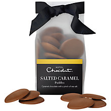 Buy Hotel Chocolat Salted Caramel Chocolate Puddles, 110g Online at johnlewis.com