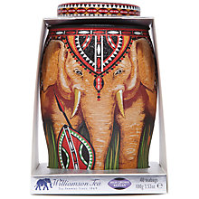 Buy Williamson Kenyan Shield Tea Bags in Tin Caddy, 100g Online at johnlewis.com