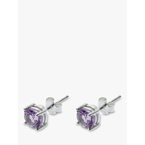 Buy Nina Breddal Square Stud Earrings Online at johnlewis.com