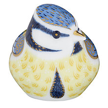 Buy Royal Crown Derby Garden Blue Tit Paperweight Online at johnlewis.com