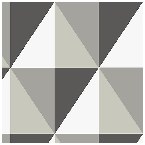 Buy Cole & Son Apex Wallpaper, Black / White / Grey, 93/16052 Online at johnlewis.com