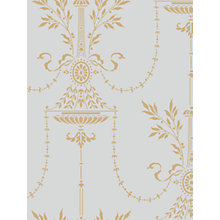 Buy Cole & Son Dorset Wallpaper, Blue / Gold, 88/7031 Online at johnlewis.com