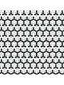 Cole & Son Honeycomb Wallpaper, Black / Grey, 93/15050