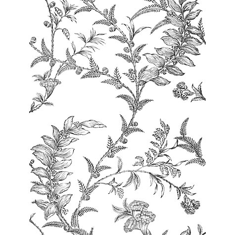 Buy Cole & Son Ludlow Wallpaper, Black / White, 88/1005 Online at johnlewis.com